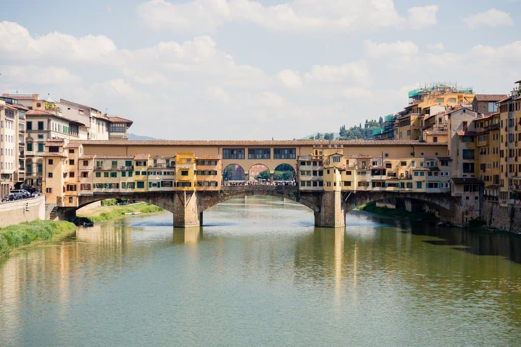 Золотой мост Понте Веккьо, Флоренция - Италия