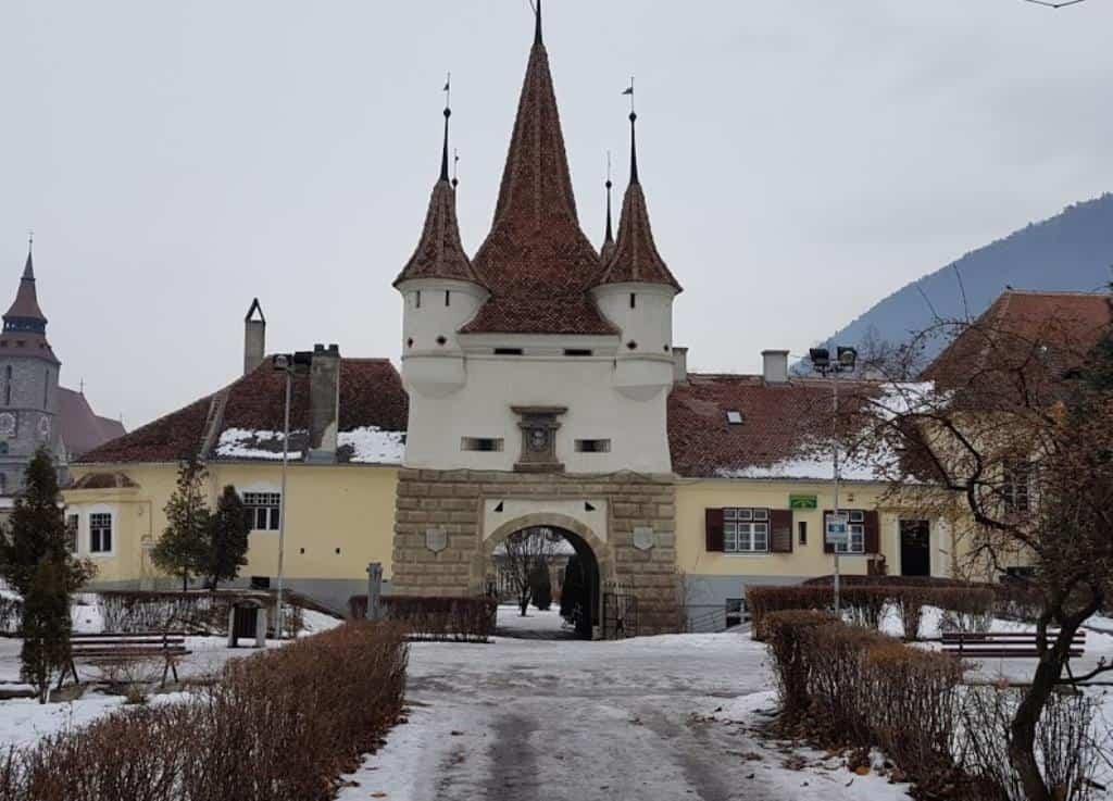 Городские ворота Брашов Румыния