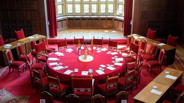Круглый стол Потсдамской конференции