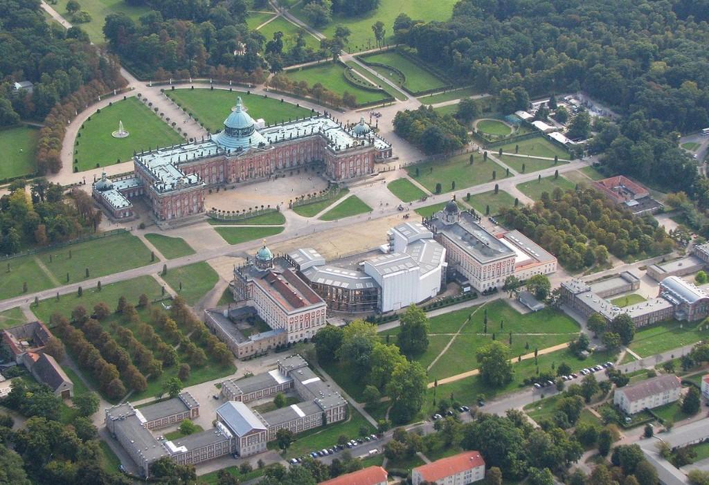 Последний барочный замок Пруссии – Новый замок