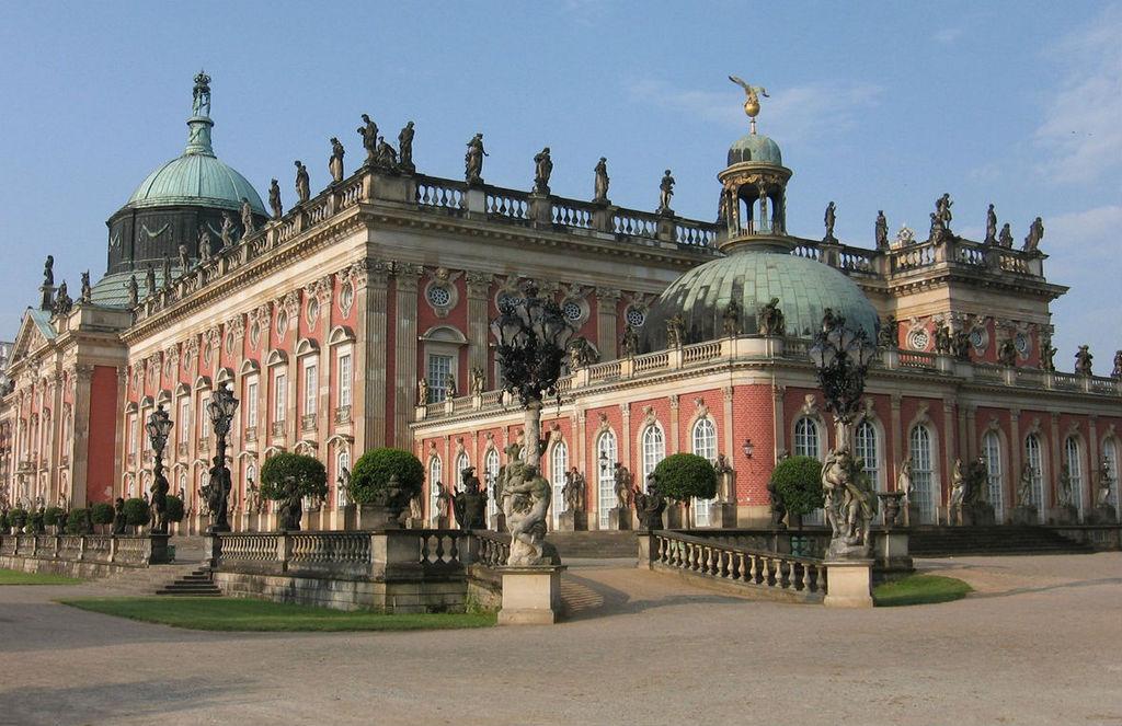 Новый дворец, Потсдам - Германия