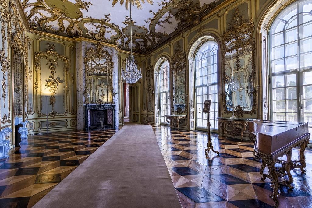 Концертный зал Нового Дворца – Голубой зал