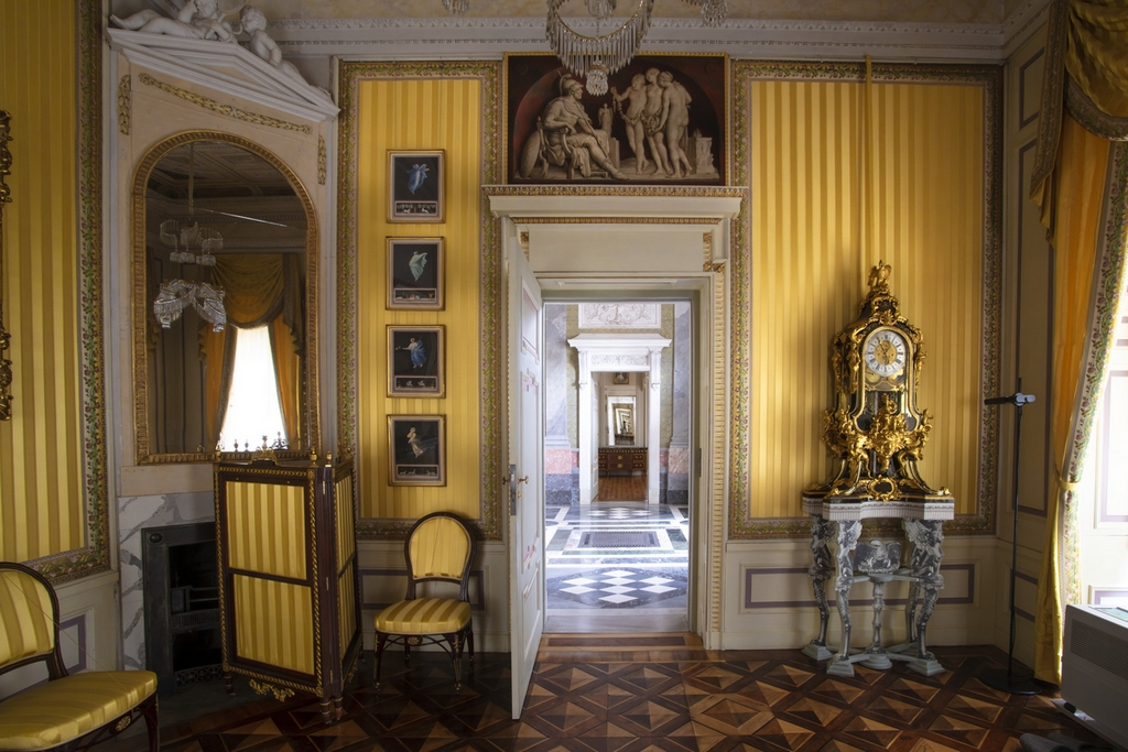 Желтый кабинет Мраморного Дворца