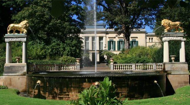 Дворец и парк Глинике