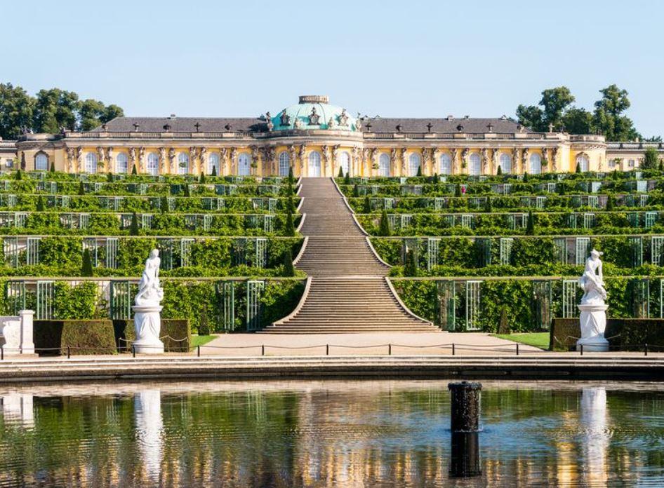 Сан-Суси — дворец Фридриха Великого