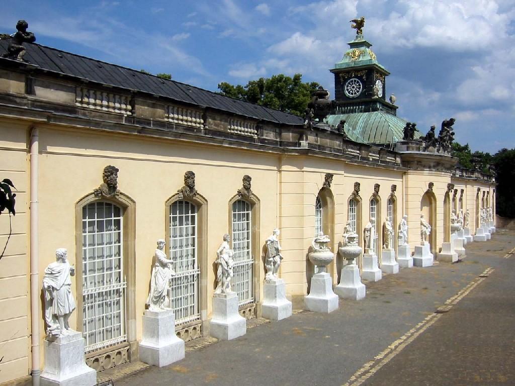 Здание Картинной галереи Сан-Суси - (Bildergalerie), Потсдам – Германия