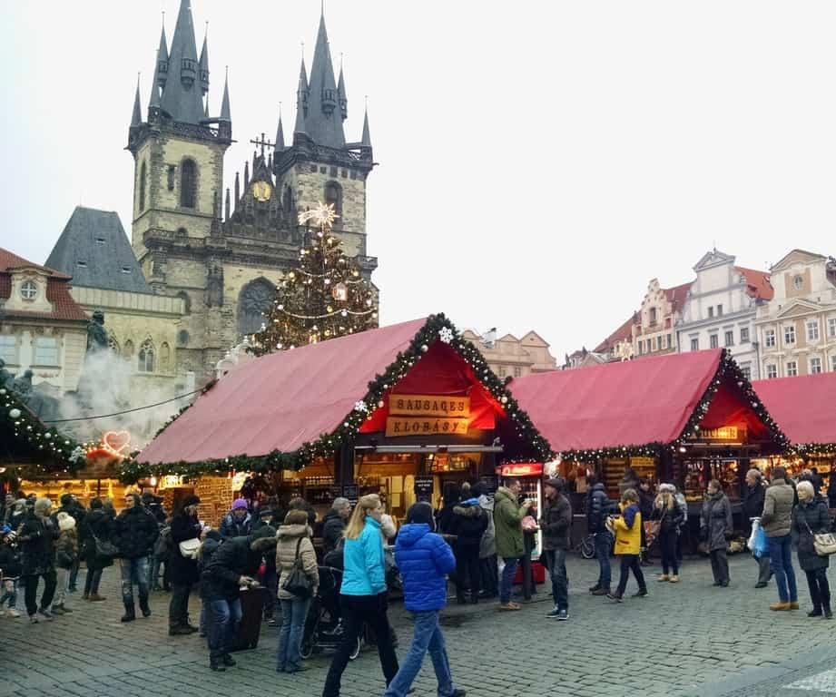 Прага зимой (Новый год 2021