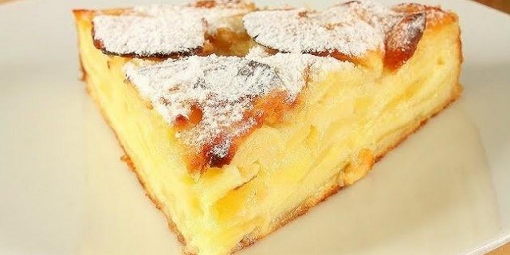 Блюдо для праздничного стола на Яблочный Спас – пирог с яблоками