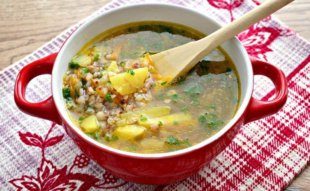 Овощной суп с курицей и гречкой - Правильное детское питание