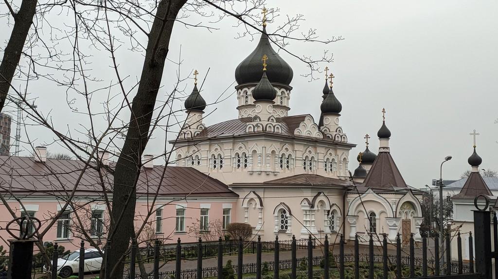 Покровская церковь женского монастыря, Киев