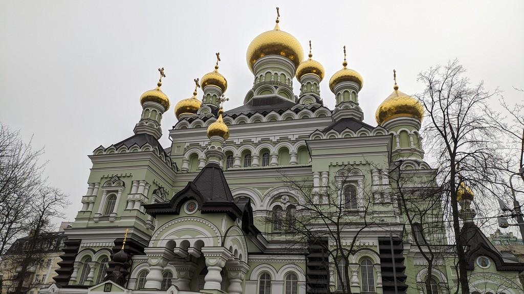 Никольский собор Покровского монастыря в Киеве