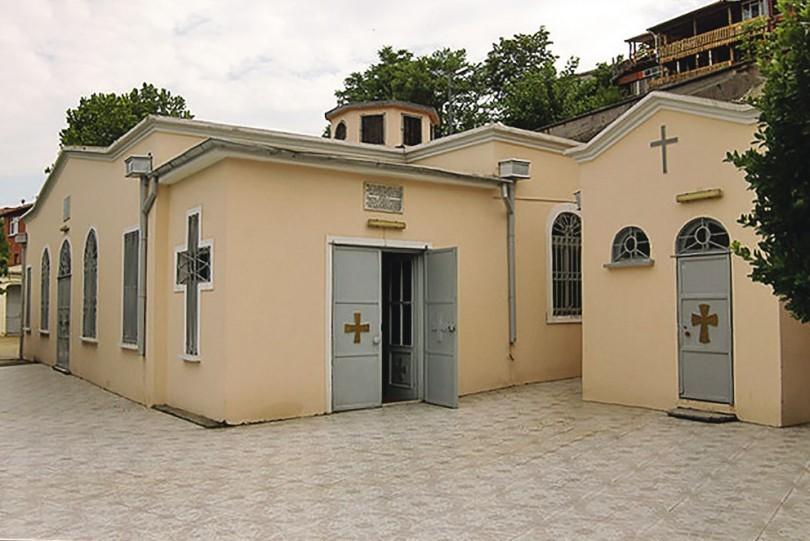 Влахернский храм (Panayia Vlaherna Ayazması Meryem Ana)