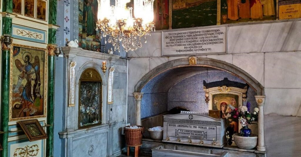 Святой источник во Влахернском храме