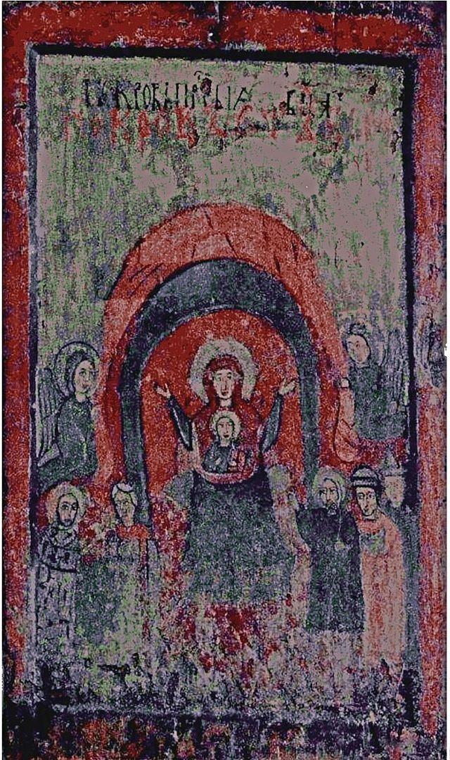 Икона Покрова Пресвятой Богородицы из Восточной Галиции (Киев)