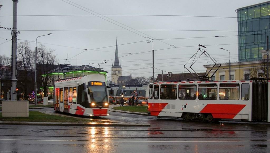 Общественный транспорт Таллин (Эстония)