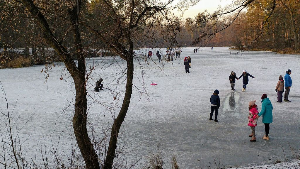 Зима 2021 в Пуще-Водице