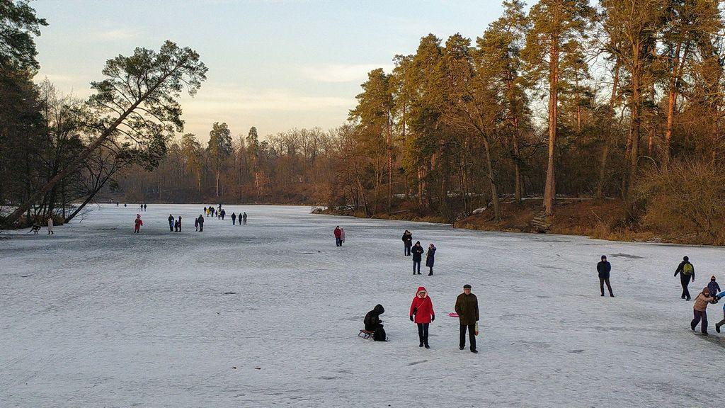 Зима в Пуще-Водице