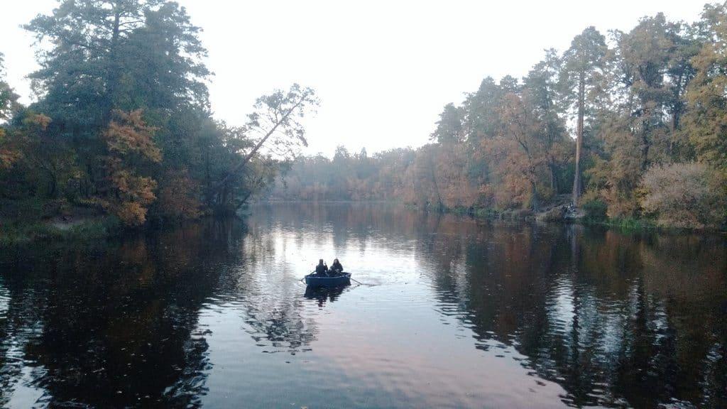 Озеро Геращиха Пуща-Водица