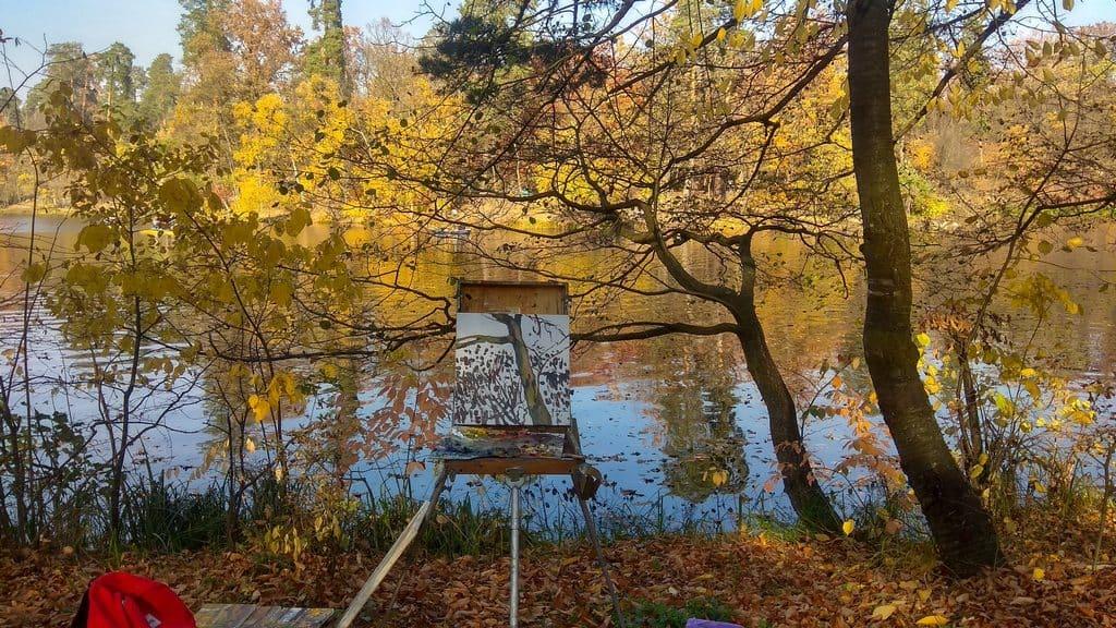 Осенний пейзаж в Пуще-Водице