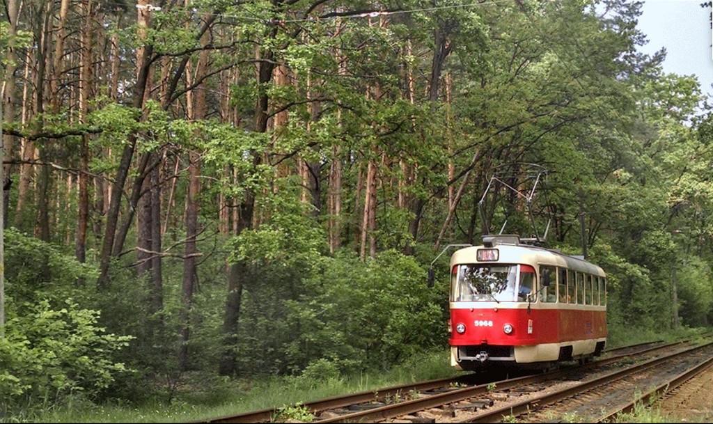 Трамвай в Пуща-Водицу