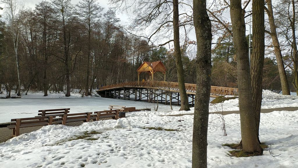 Февраль 2021 в Пуще-Водице