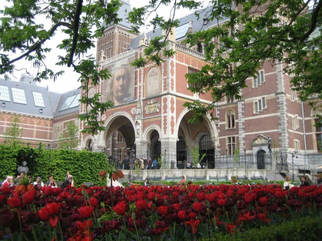 Rijksmuseum Рейксмюсеум Амстердам музеи