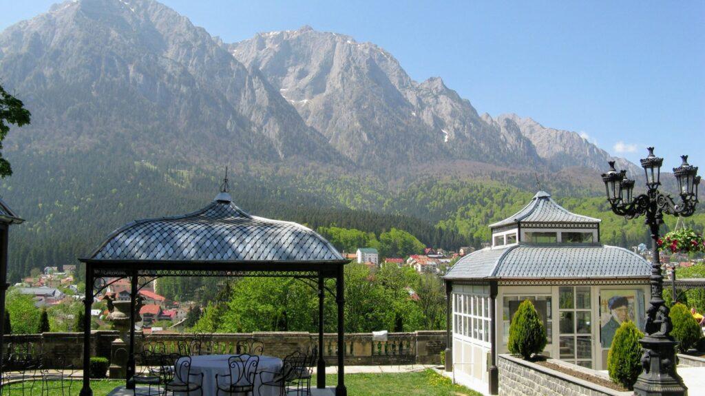 Горные пейзажи в Румынии