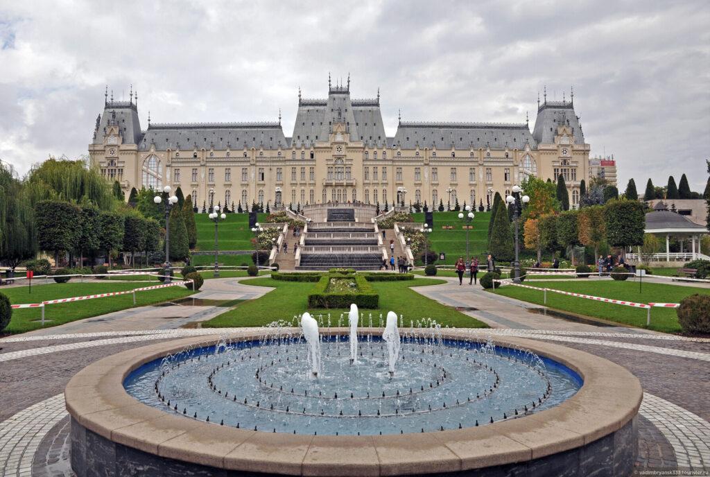 Дворец культуры (Яссы) Румыния