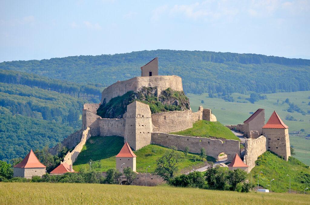 Крепость Рупя - Cetatea Rupea Достопримечательности Румыния