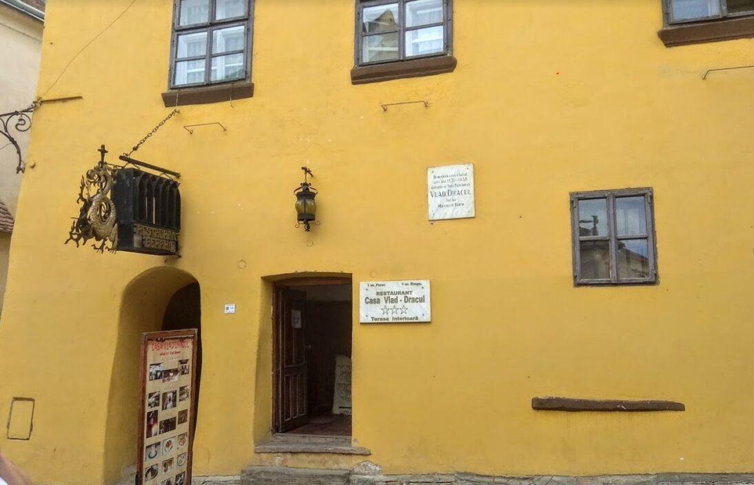 Дом, в котором родился Влад Пелеш в Сигишоаре