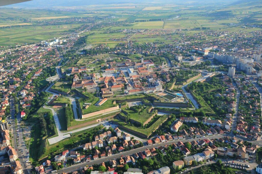 Крепость Алба Юлия (Cetatea Alba Carolina), Румыния
