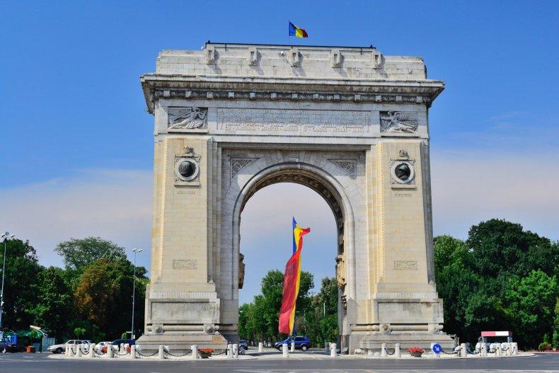 Триумфальная арка, Бухарест