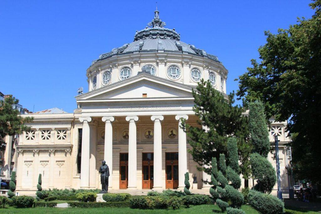 Здание Румынского Атенеума