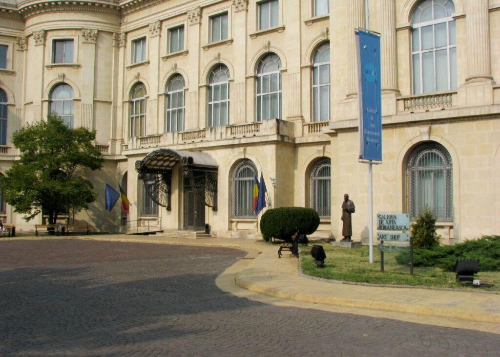 Королевский дворец (Национальный музей искусств) (Румыния - достопримечательности)