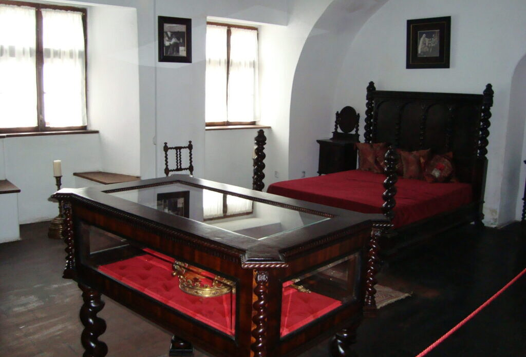 Замок Бран, Внутреннее помещение