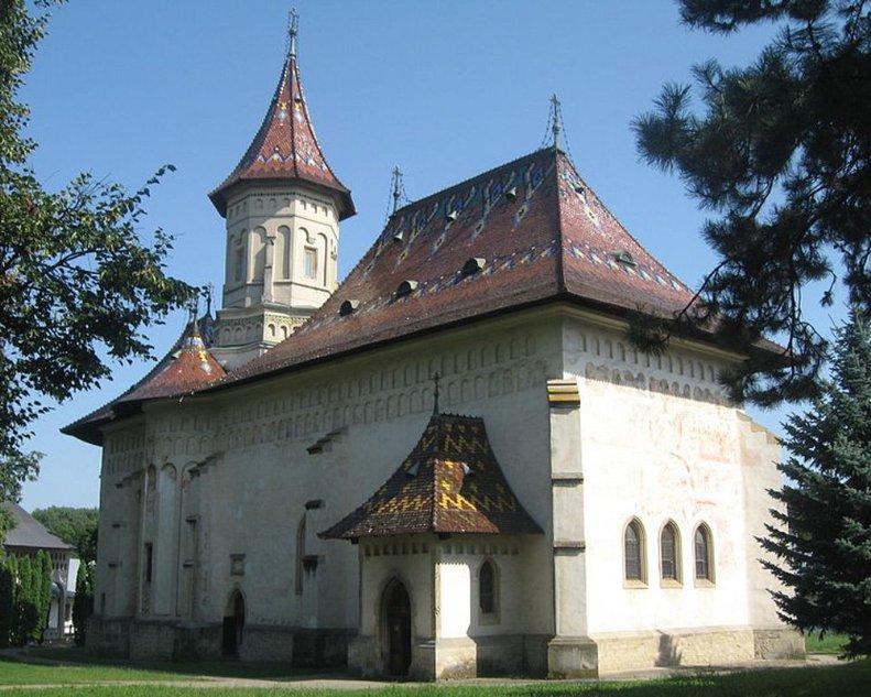 Монастырь святого Иоанна Нового Сучавского