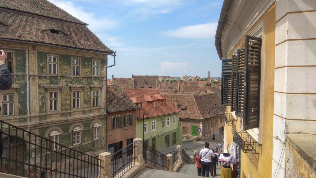 Улочки Сибиу, Румыния