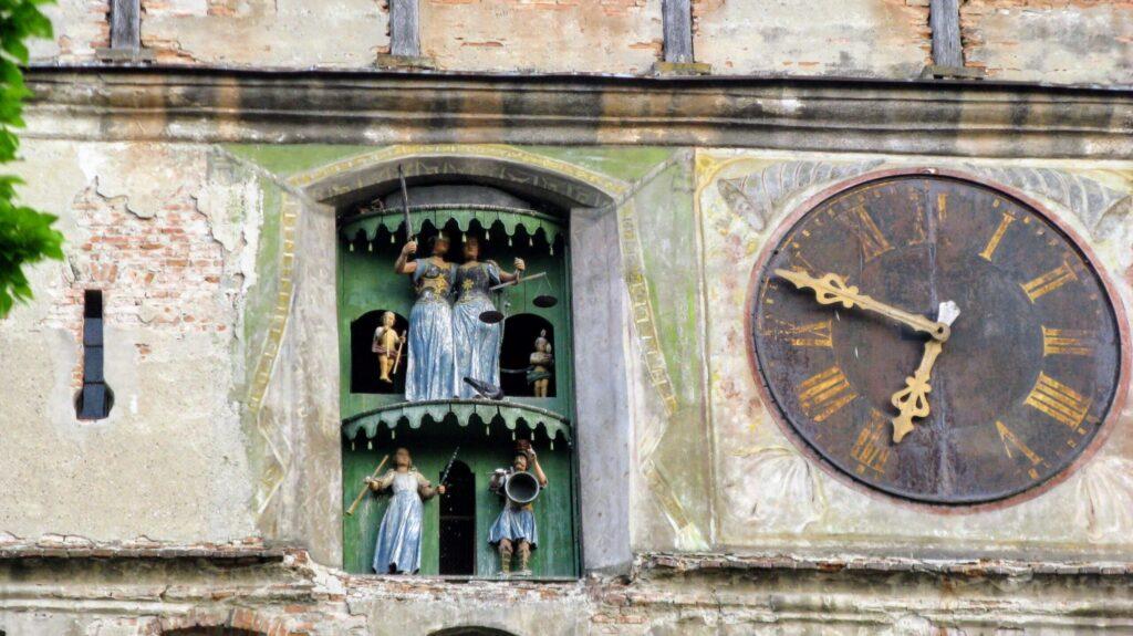 Часы на башне, Сигишоара