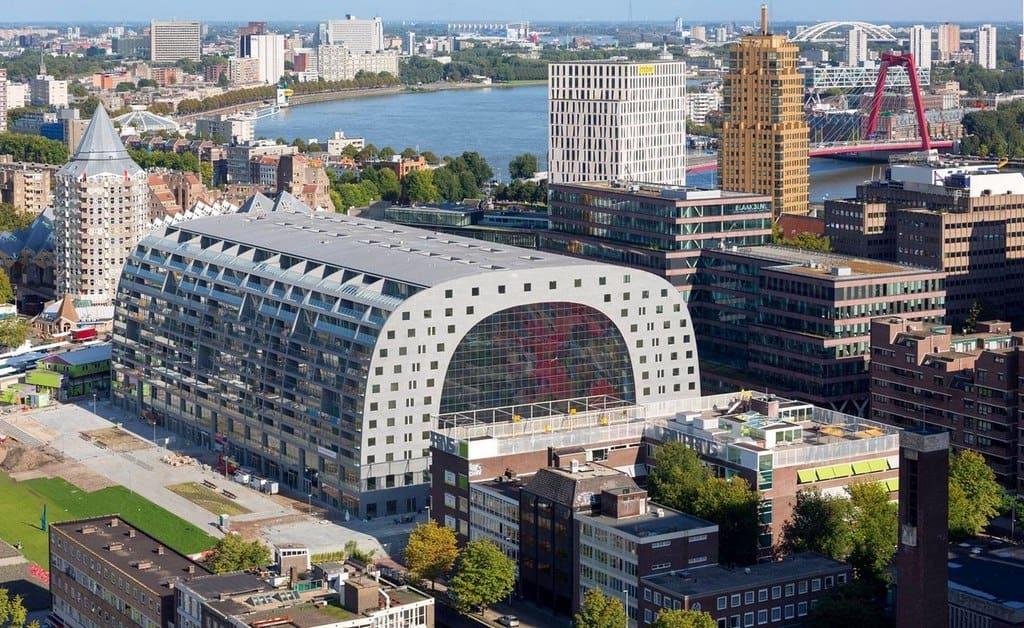 Марктхал – новый рынок в Роттердаме Роттердам - Нидерланды