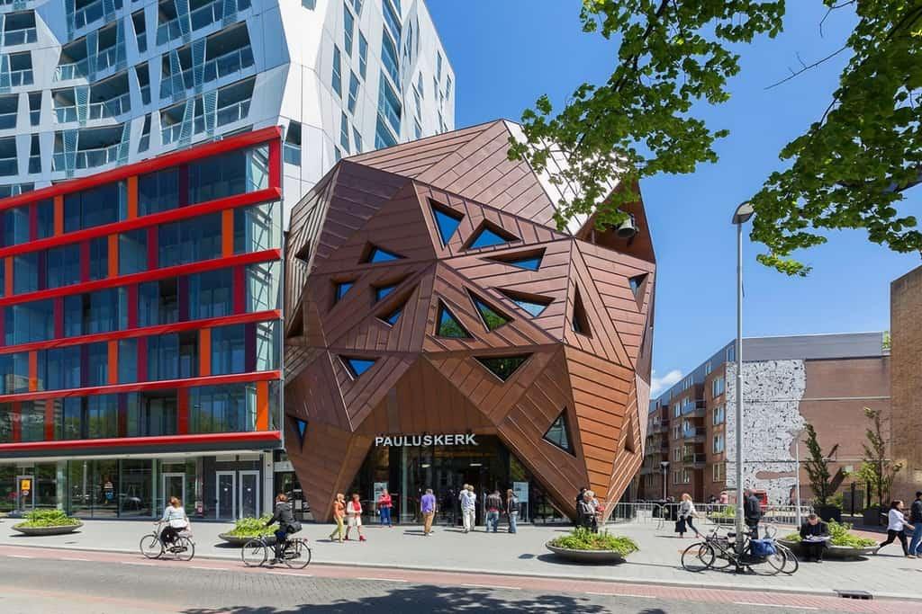 Часовня Nieuwe Pauluskerk, Роттердам - Нидерланды