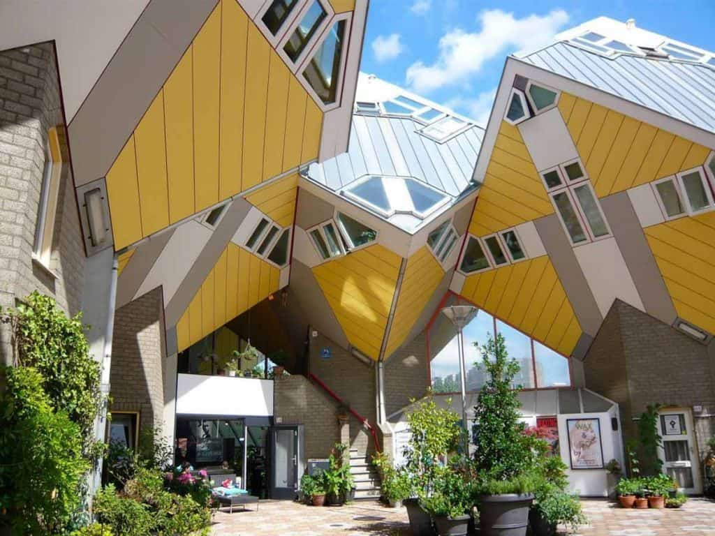 Дома-кубы Роттердам - Нидерланды