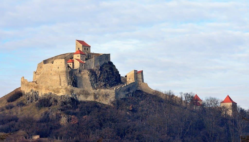 Крепость Рупя - Cetatea Rupea Румыния