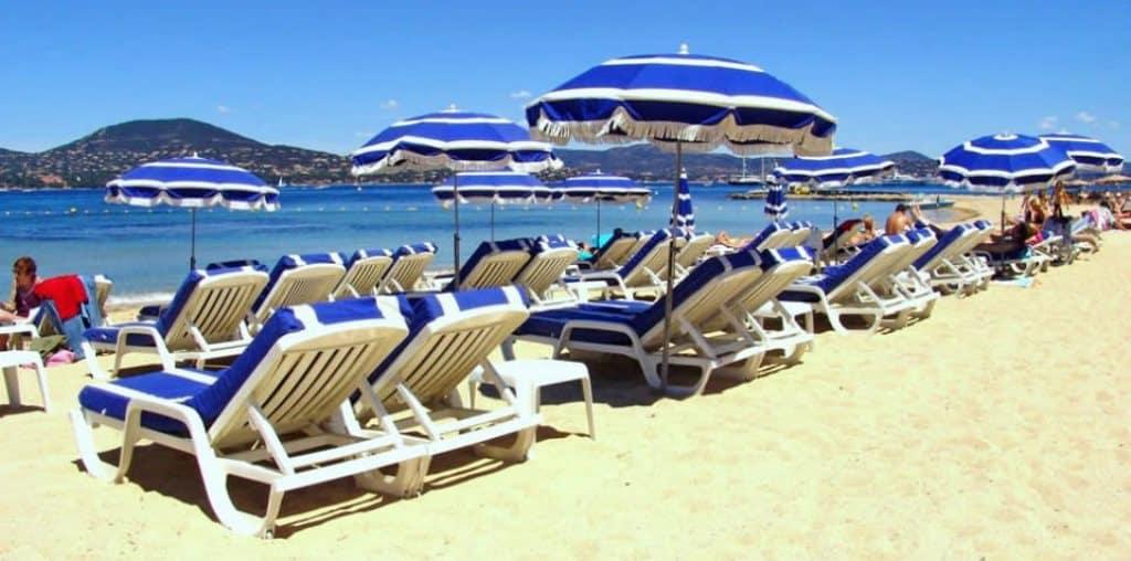 la Bouillabaisse пляж - Лазурный берег Франции