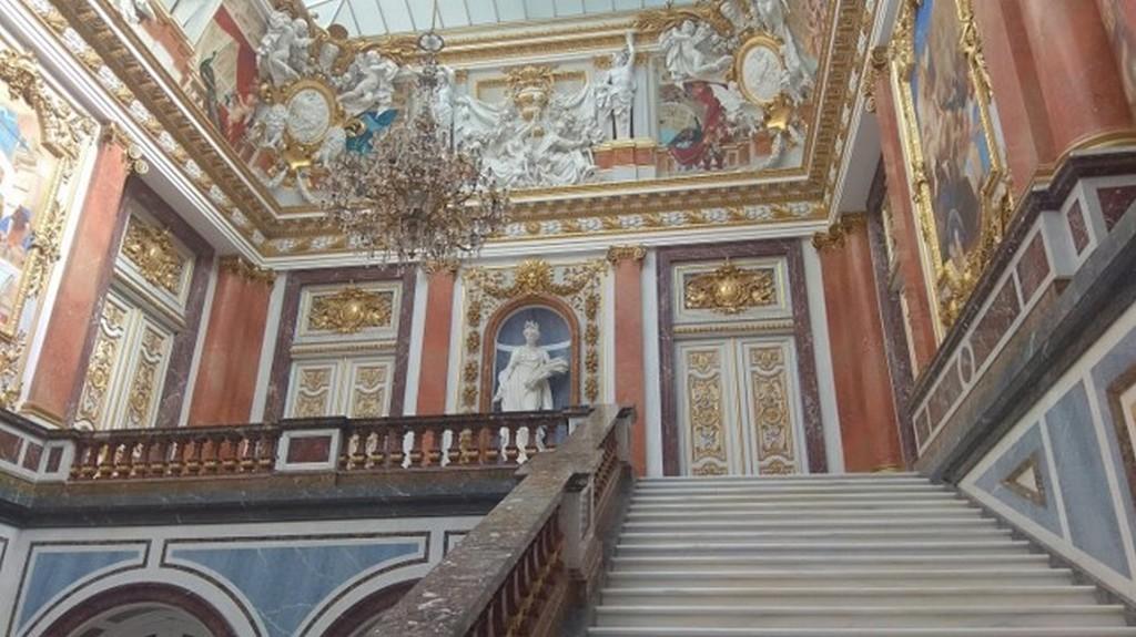 Парадная лестница, Дворец Херренкимзее