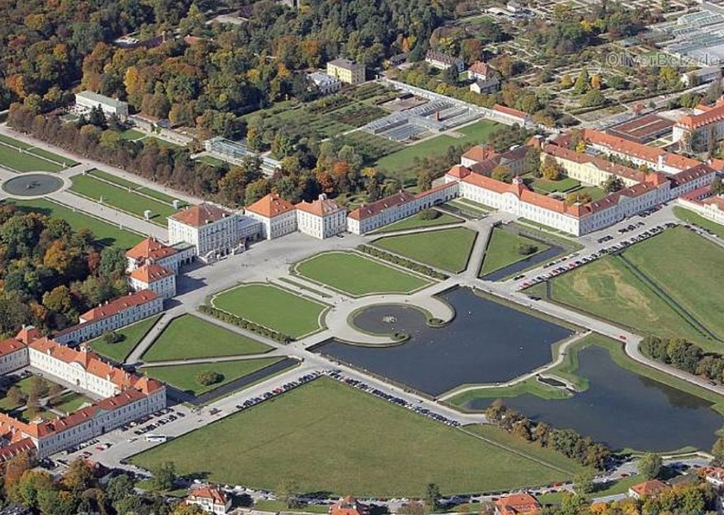 Вид на дворцово-парковый ансамбль «Дворец Нимфенбург», Мюнхен