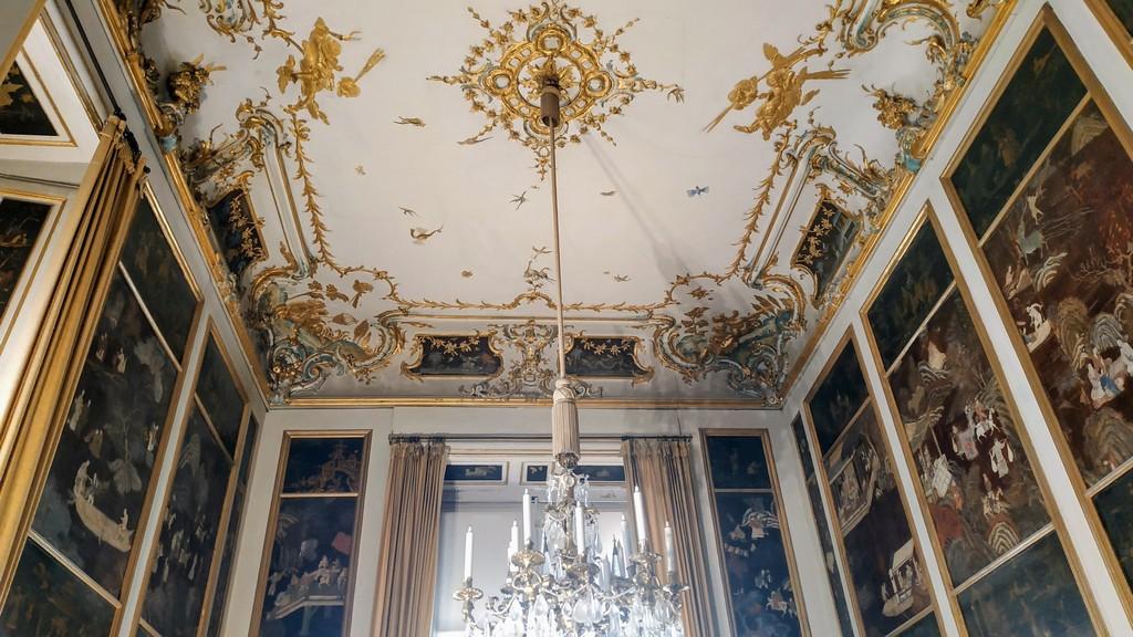 Лаковый кабинет дворца Нимфенбург