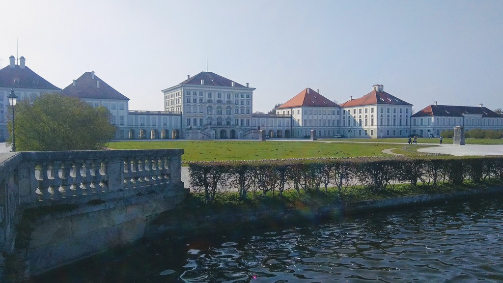 Дворец Нимфенбург, Мюнхен вид с восточной стороны