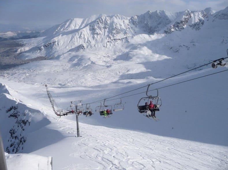 Поляна Шимошкова, Закопане - горнолыжный курорт в Польше