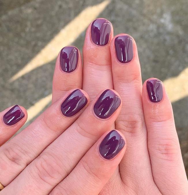 Фиолетовый тон