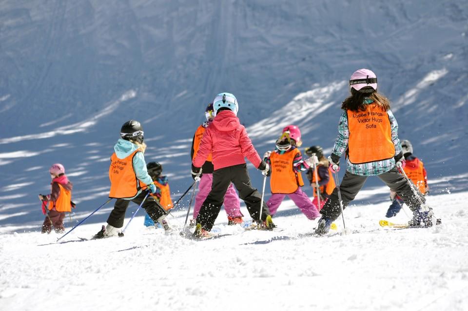 Пампопрово - обучение детей в лыжной школе